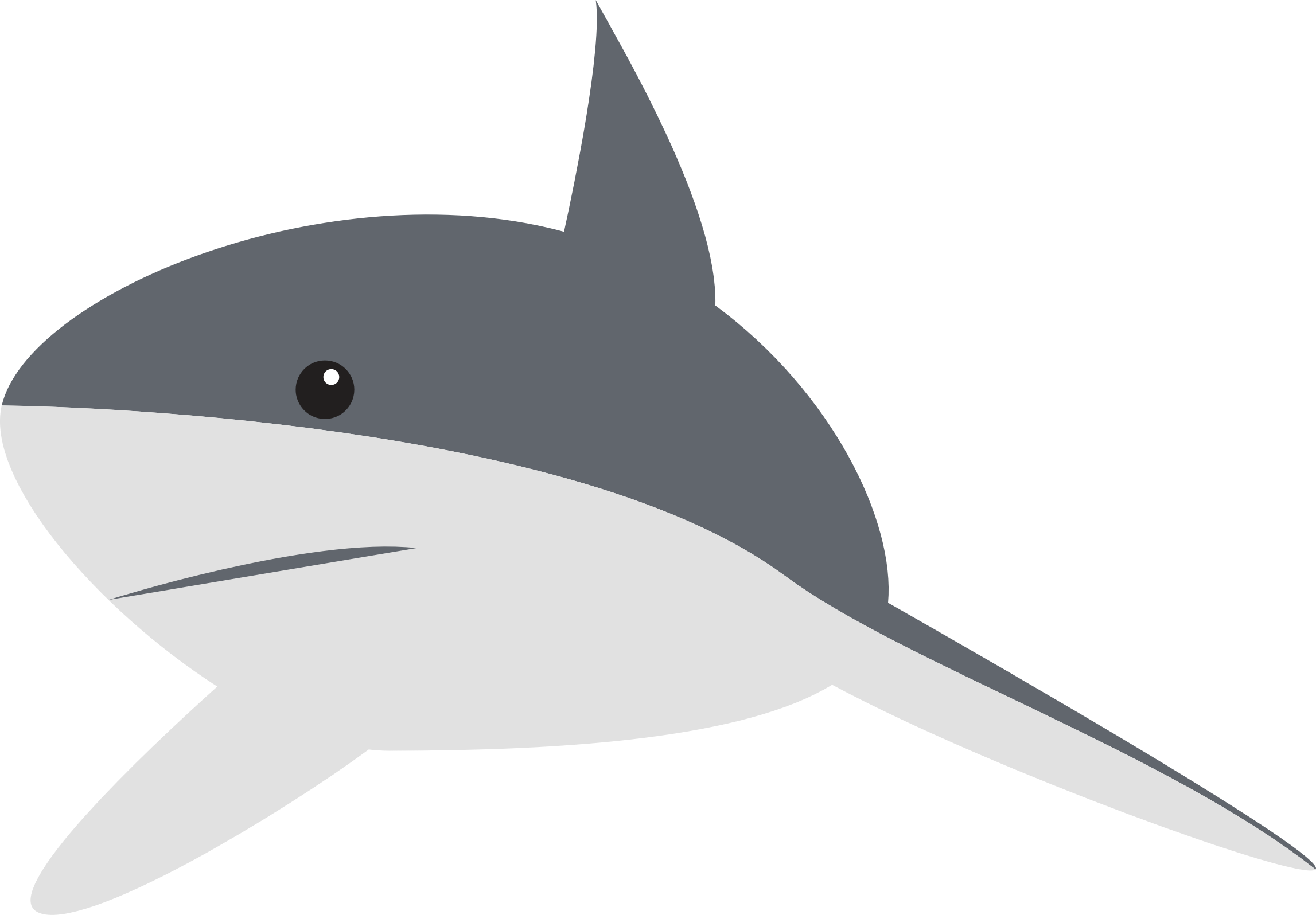 Dolphin clipart toon. Cartoon shark group with