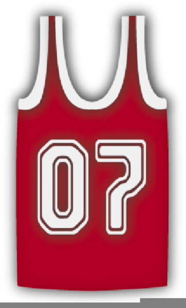 Blank jersey free images. Clipart basketball shirt