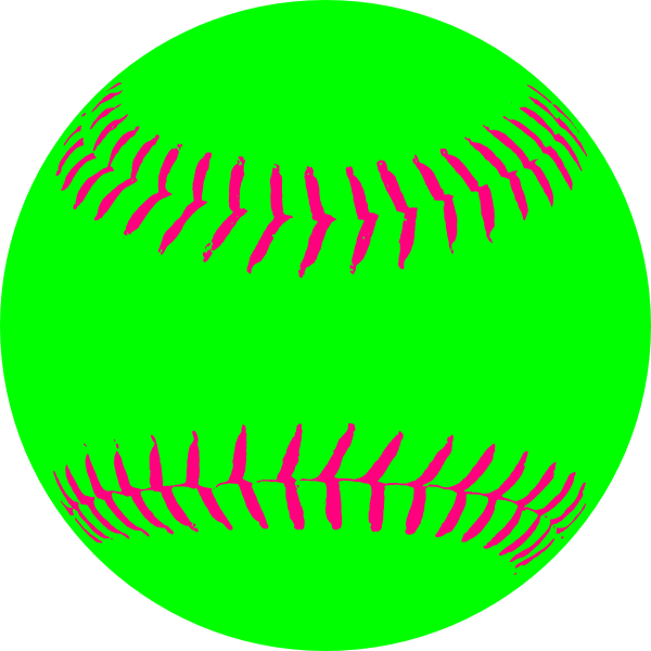 Clipart numbers softball. Green clip art at