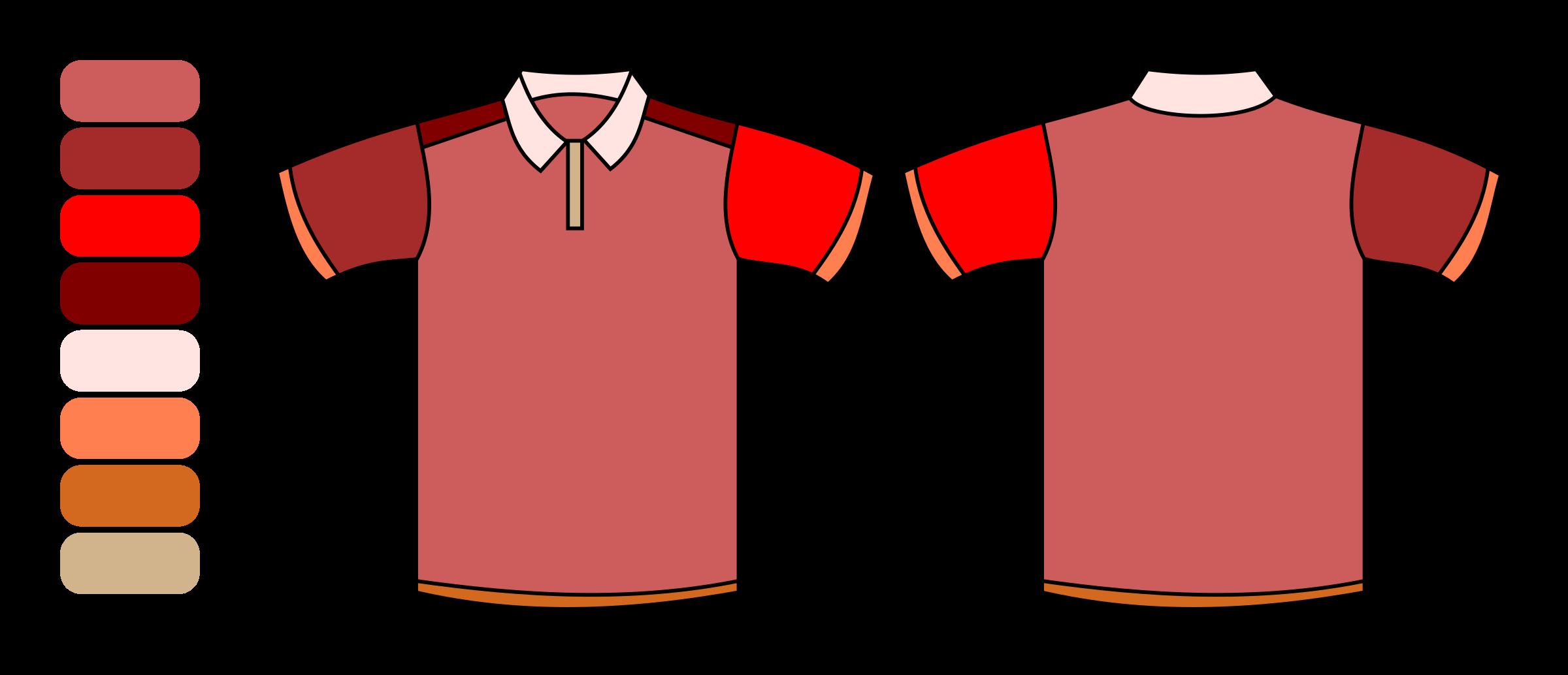 Clipart shirt uniform. Icons free on dumielauxepices