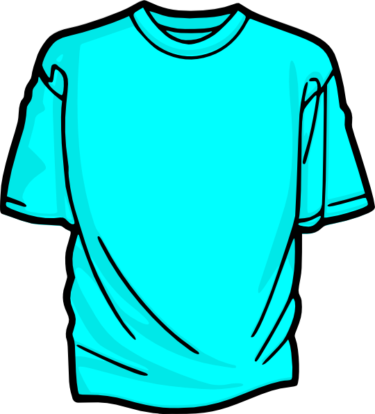 Clipart shirt green shirt. Blank tshirt clip art