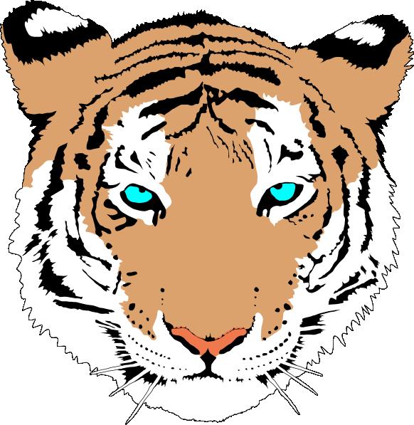clipart tiger leopard