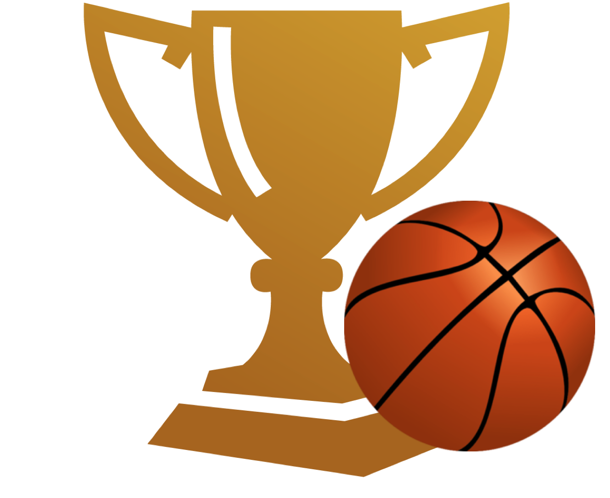 Basketball trophy free download. Game clipart tournament