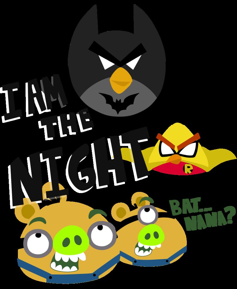 Angry birds x minions. Minion clipart batman