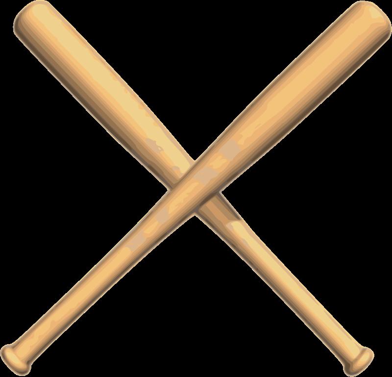 Baseball bat and ball. Diamond clipart coloring page