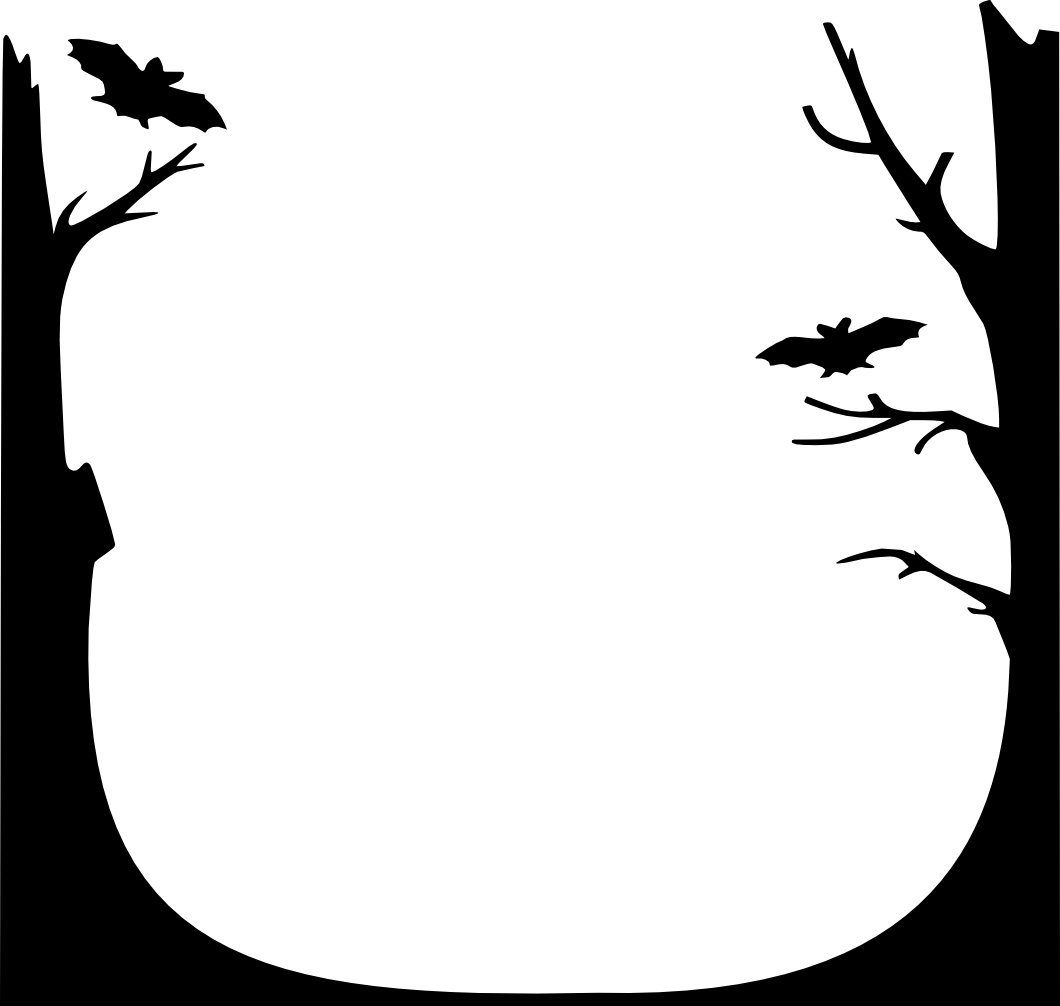 Halloween border png. Page borders creative pages