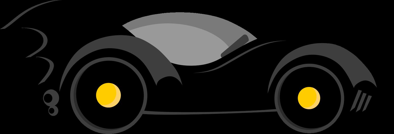 Clipart car superhero. Batman transparent background batcar