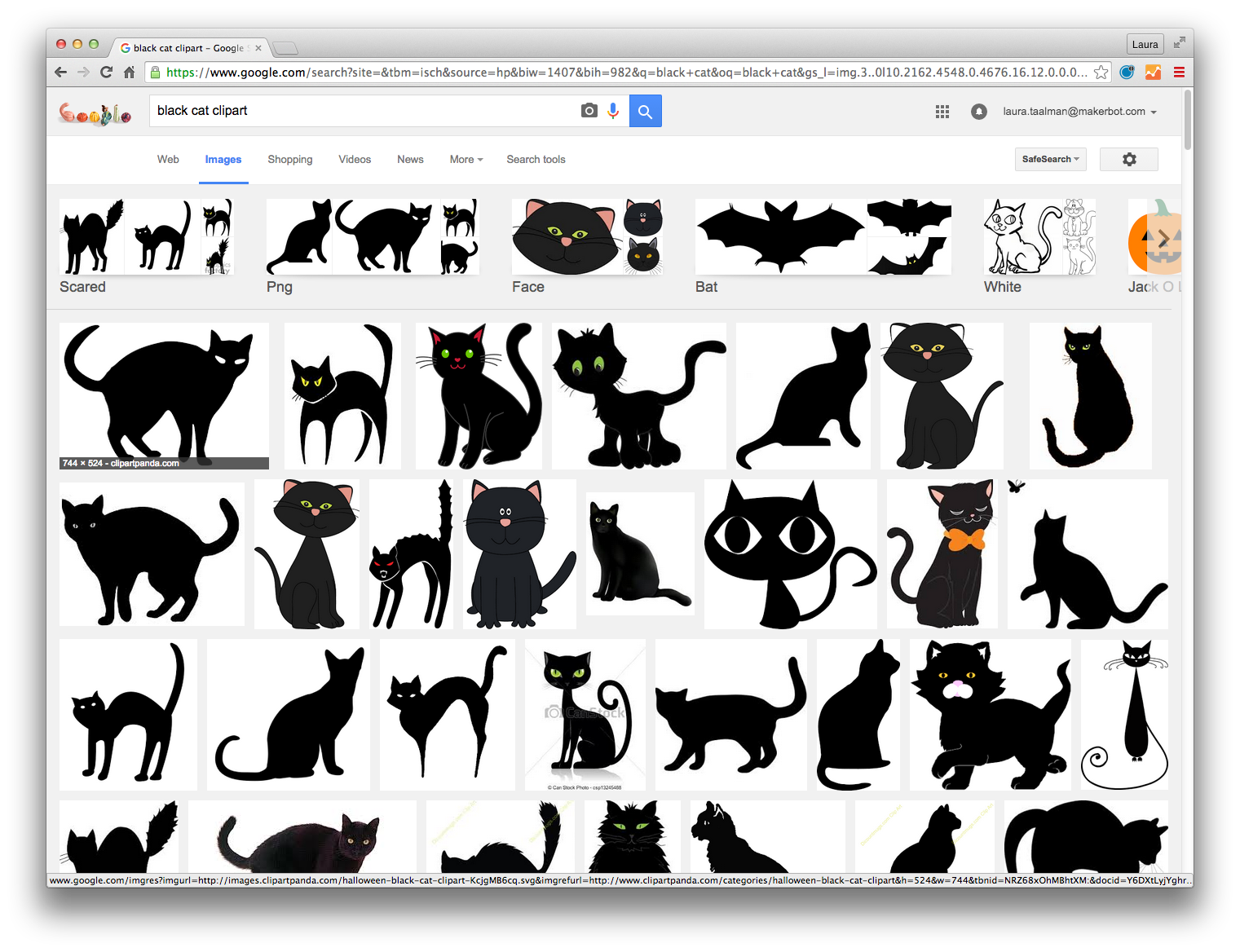 Black cats with simple. Clipart bat cat