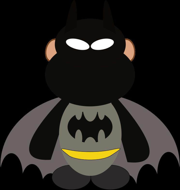 Clipart monkey costume. Comic medium image png