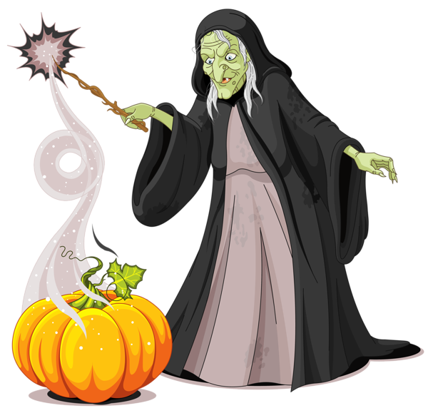 Witch clipart witchcraft. Halloween creepy png picture