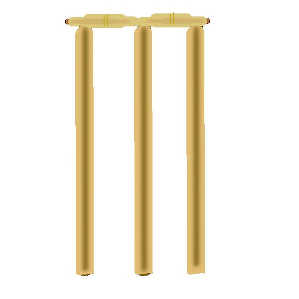Wickets clip art at. Cricket clipart cricket wicket