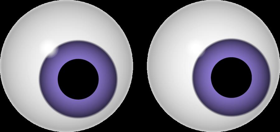 Scary eyes group lurking. Clipart bat eye