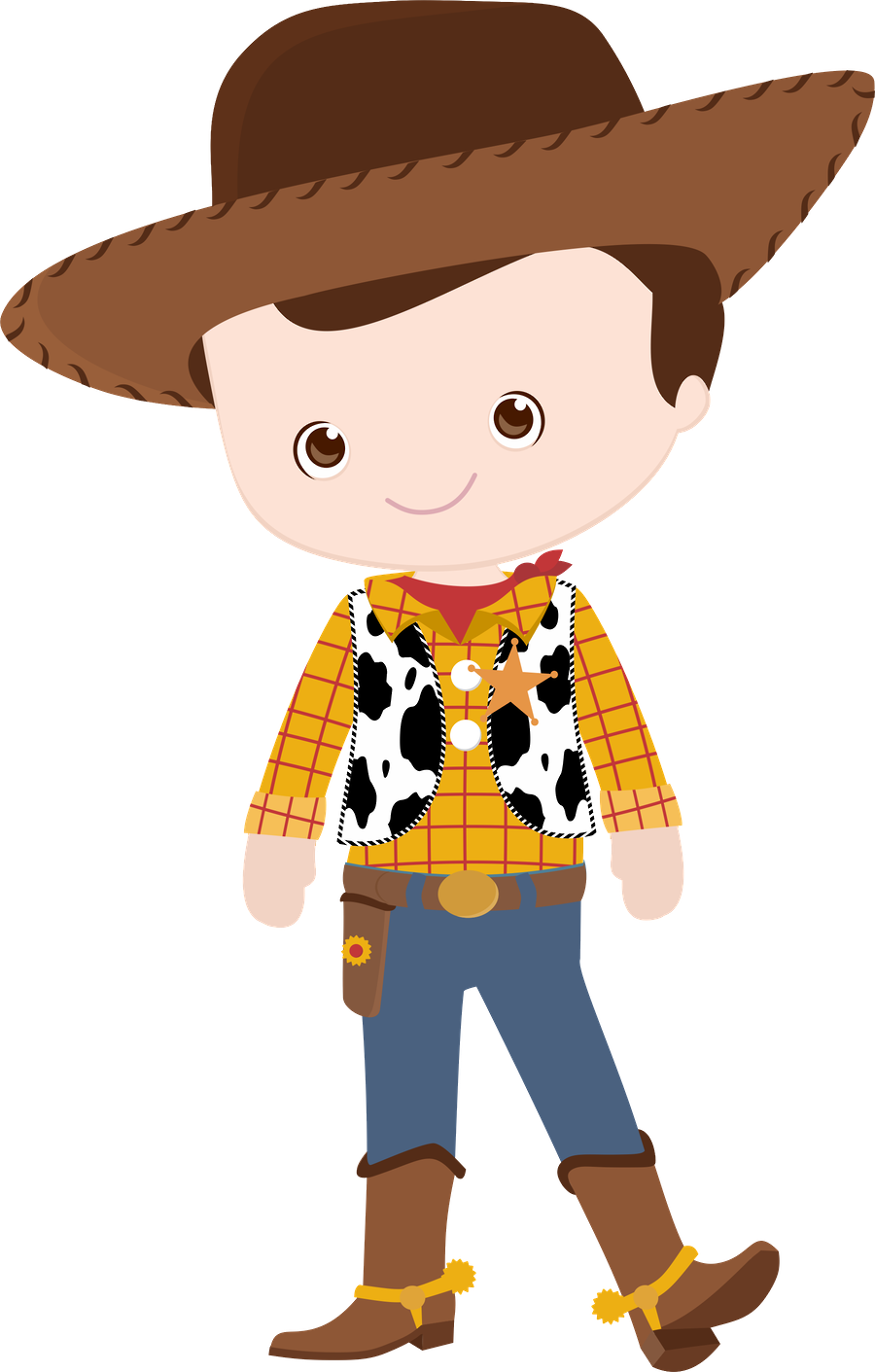 Toy story minus baby. Short clipart child