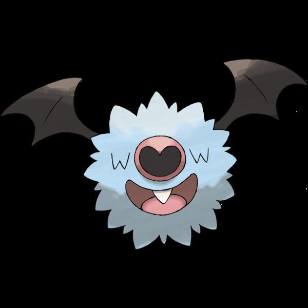 Pokeball clipart grey. Pokemon bats rule swoobat