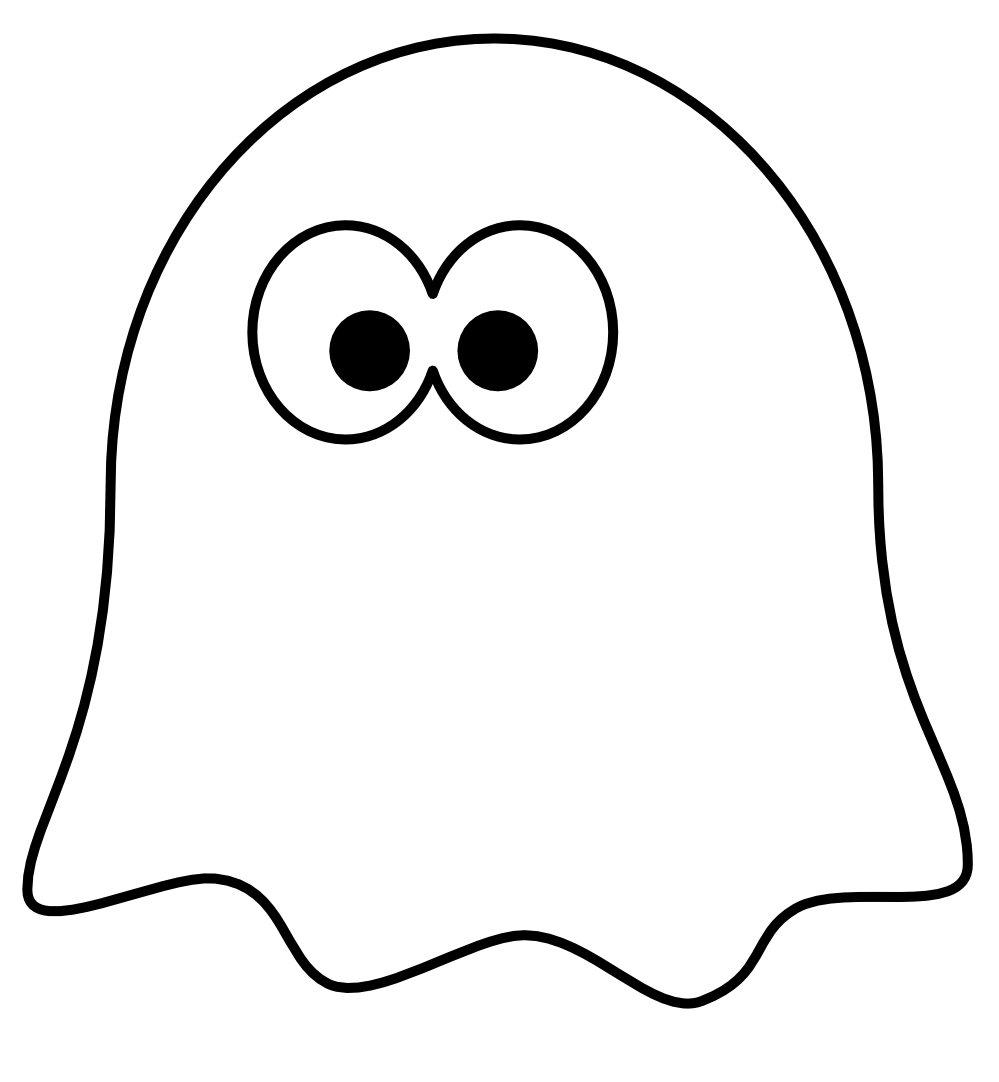 Clipart man ghost. Clip art black and