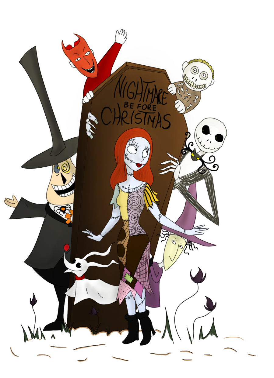Halloween Thanksgiving Christmas Clipart.Clipart Halloween Nightmare Before Christmas Clipart
