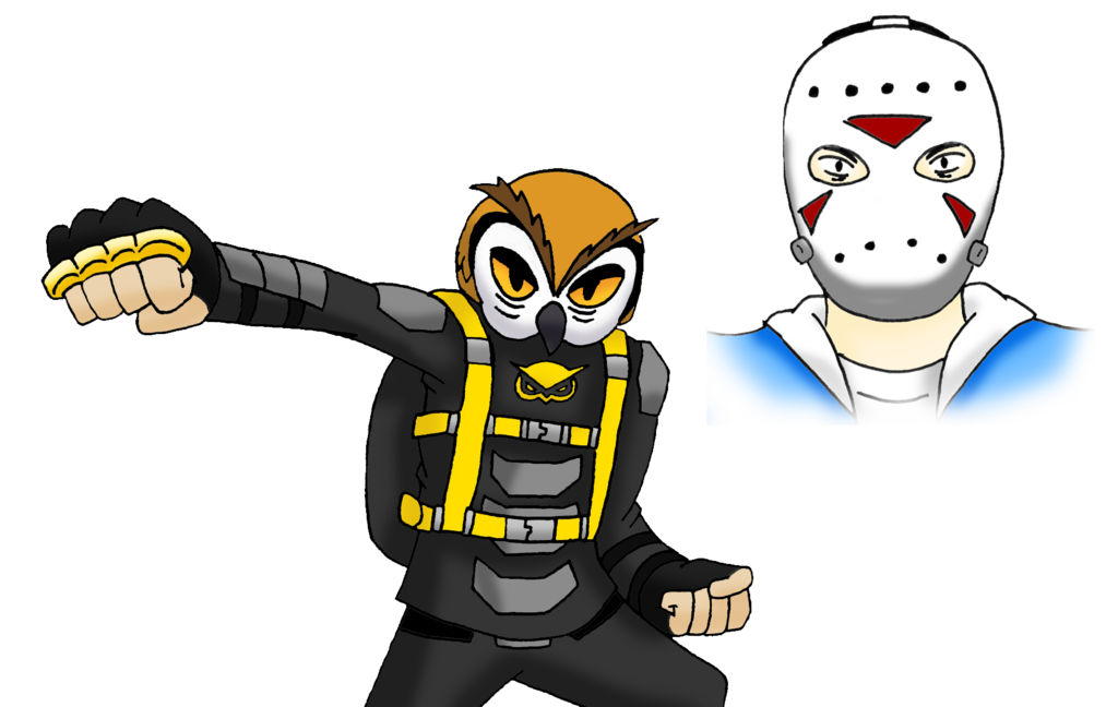 Racoon clipart head. Bat owl vs delirious