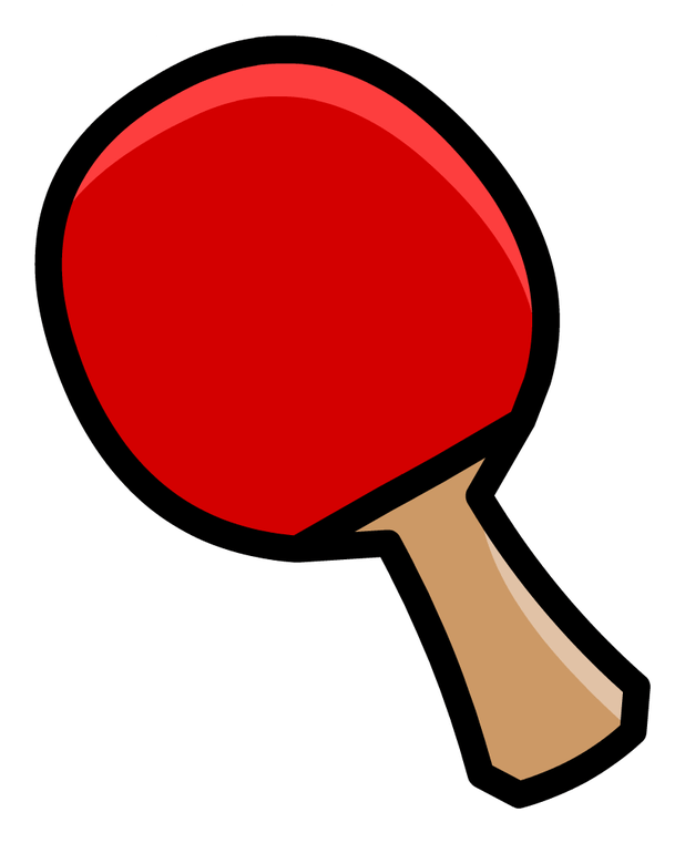 Cartoon table tennis cartoonview. Clipart bat ping pong