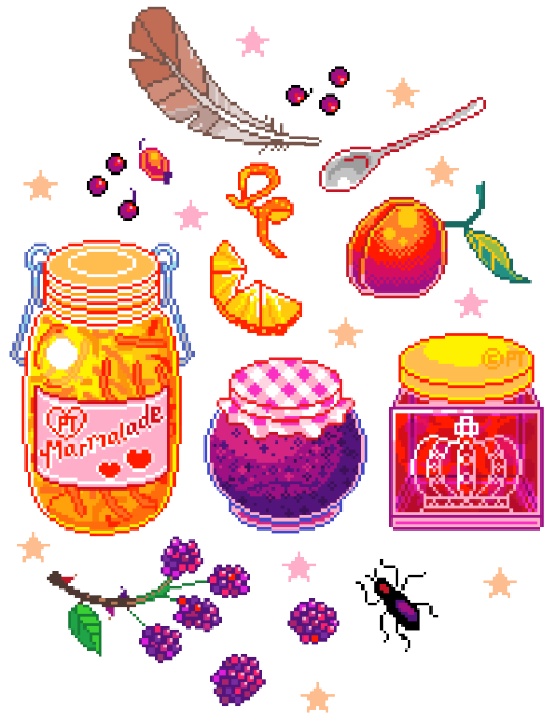 Jelly clipart blackberry jam. Pixel fruit tumblr this