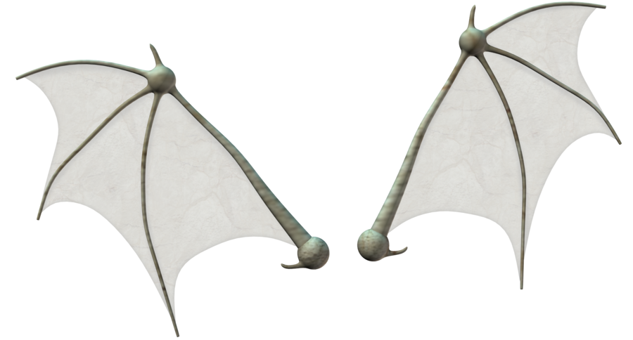 Bat wings stock by. Wing clipart simple