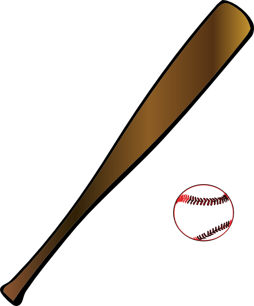 Baseball sport i royalty. Sports clipart rounders
