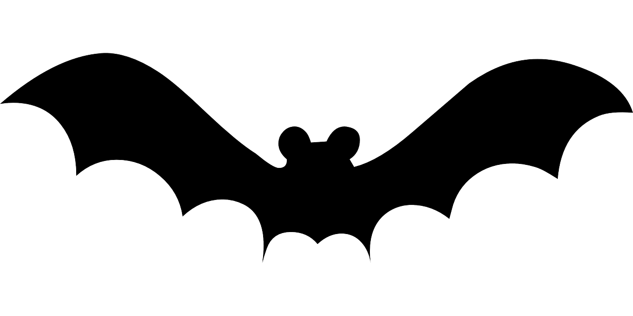 Flying template free printable. Clipart bat upside down