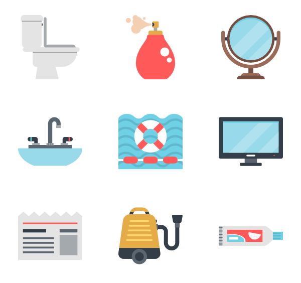 Maid clipart icon. Hotel icons free vector