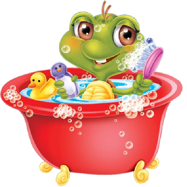 Funny cartoon animal clip. Clipart halloween frog