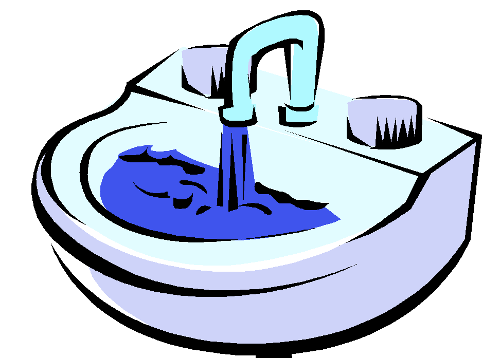 Lady clipart restroom. Sink