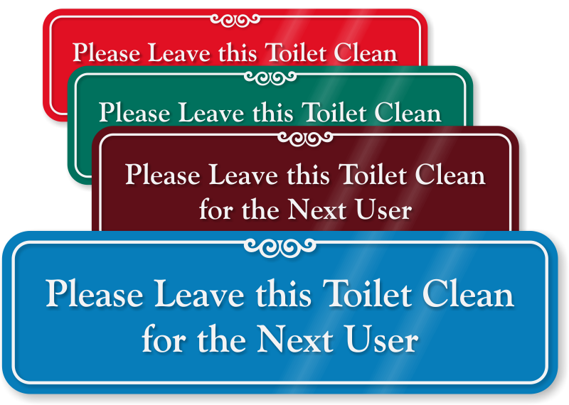 Keep clean signs zoom. Clipart door bathroom door
