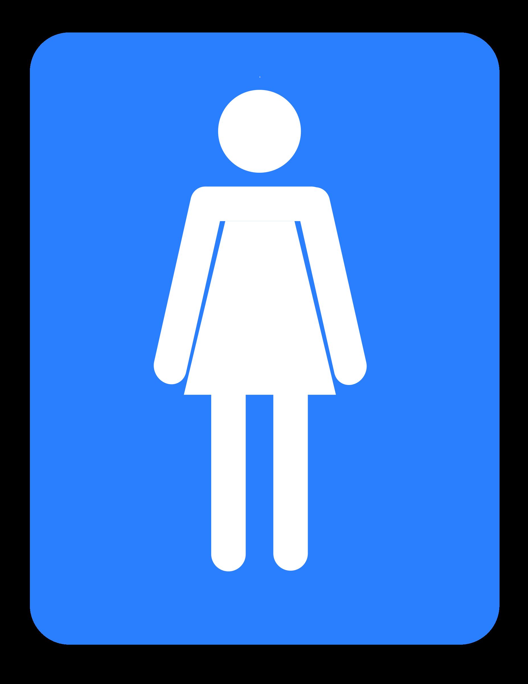 Women big image png. Clipart woman bathroom