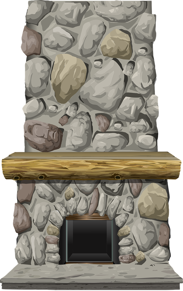 Fireplace free to use. Furniture clipart une