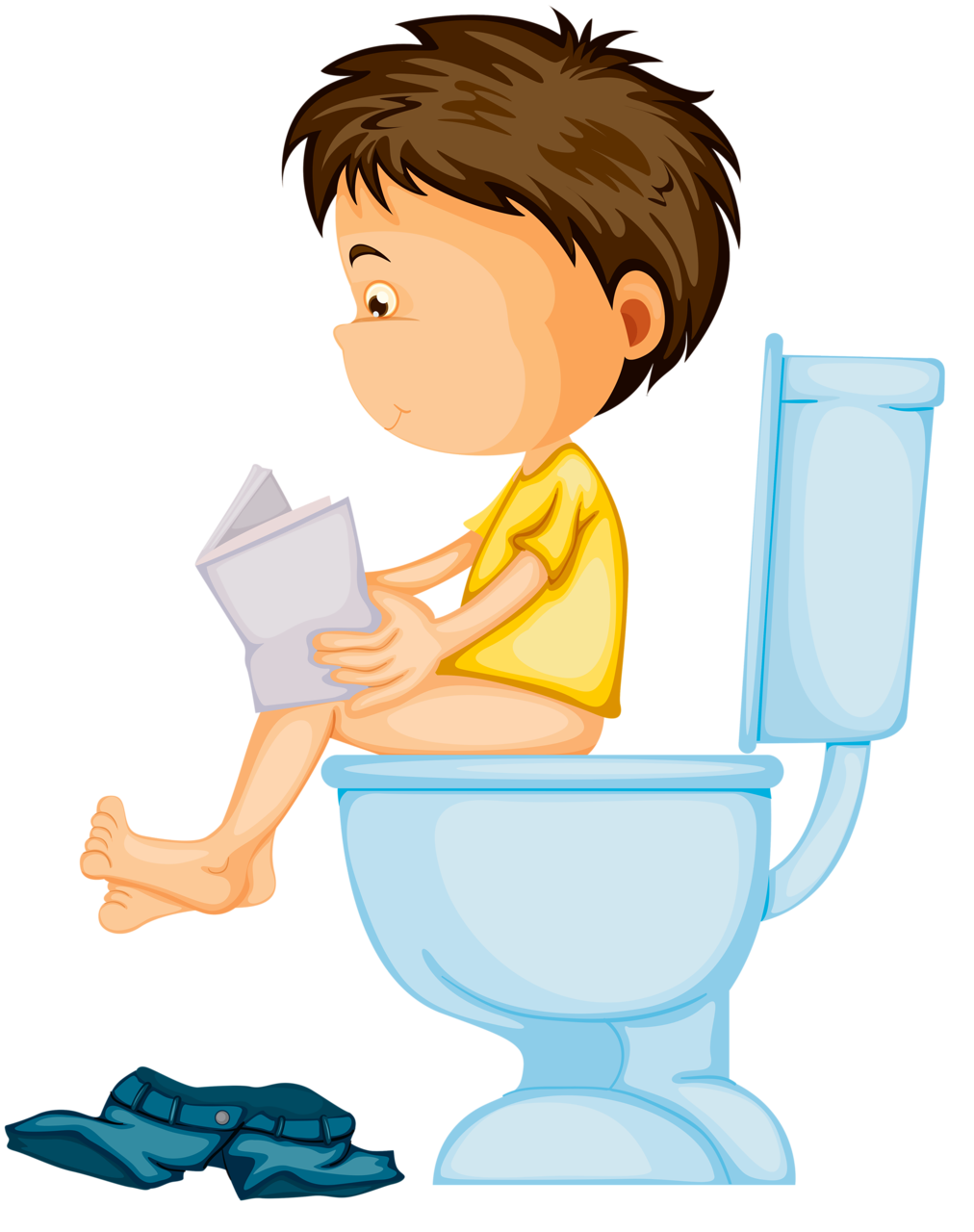 Person clipart boy.  collection of potty
