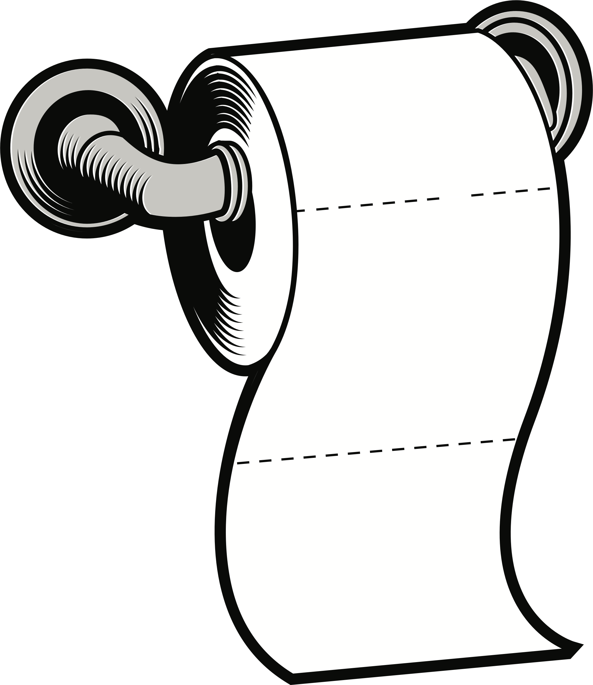 Paper clipart drawing. Toilet big image png