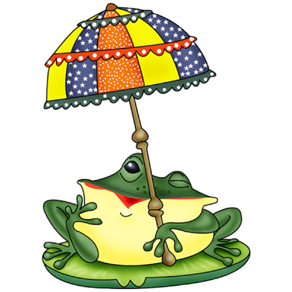 Marbles clipart four. Funny frog cartoon animal