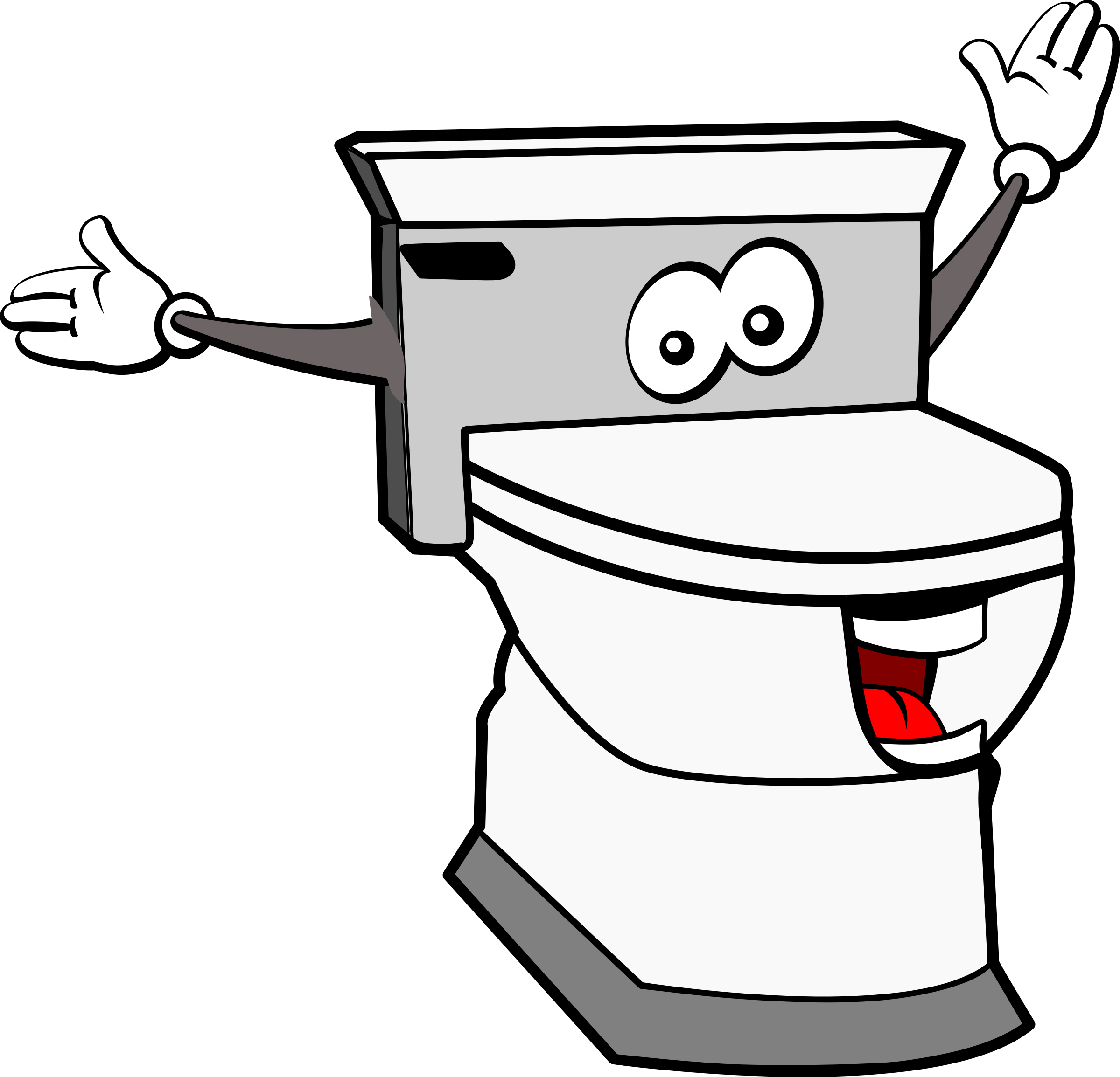 Furniture clipart toilet. Kawaii big image png