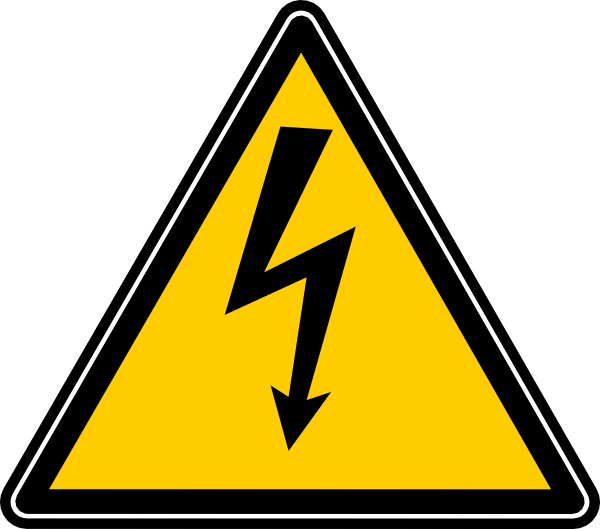 Sign clip art at. Danger clipart dangerous road