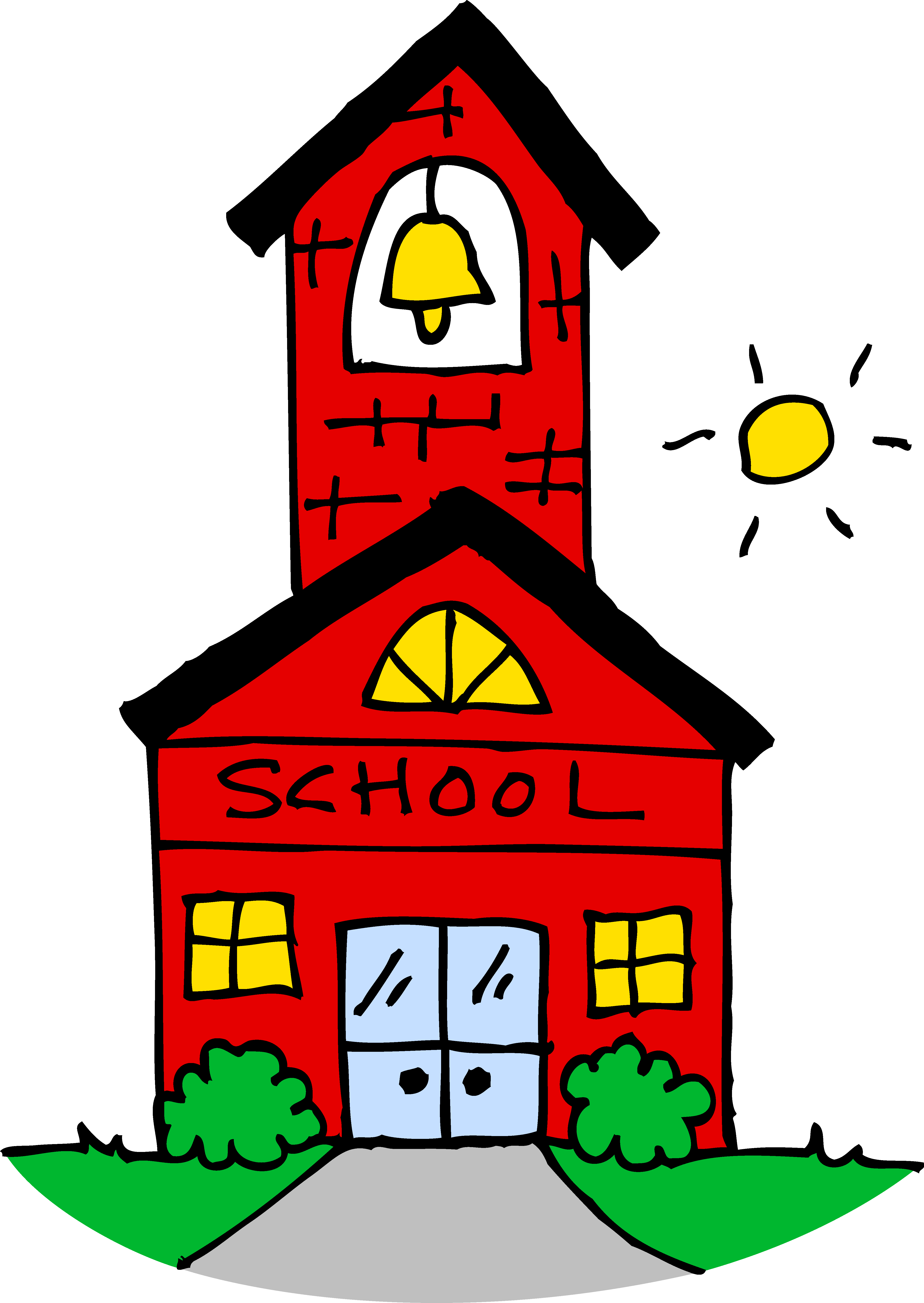 Coloring clipart school.  collection of elementary