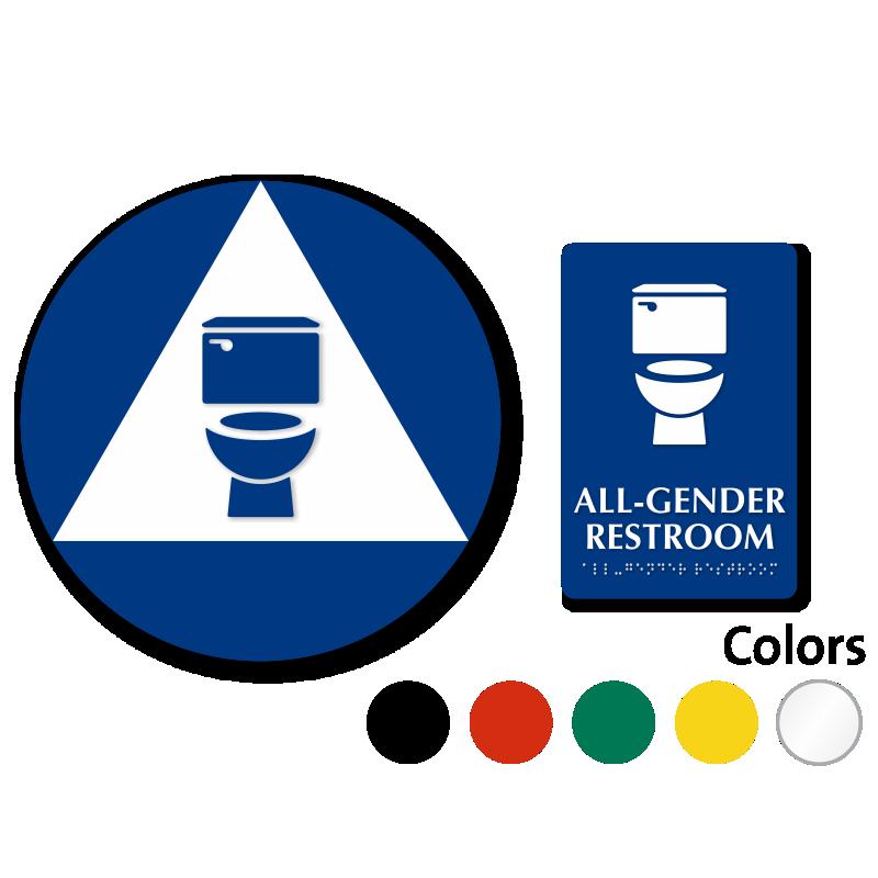 Clipart door washroom. California all gender neutral