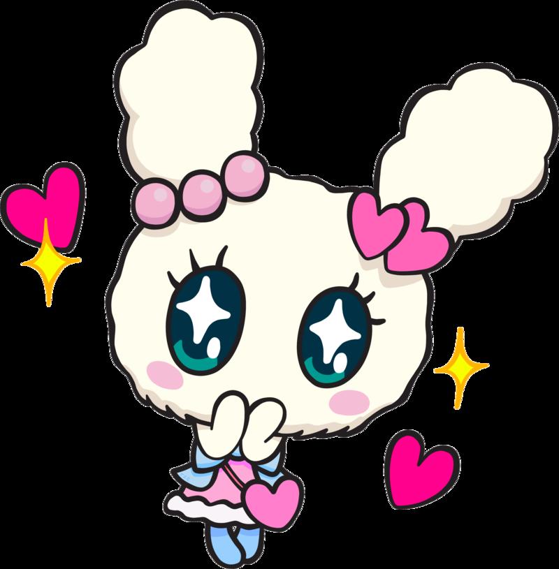 Kawaii clipart bunny.  w pinterest and