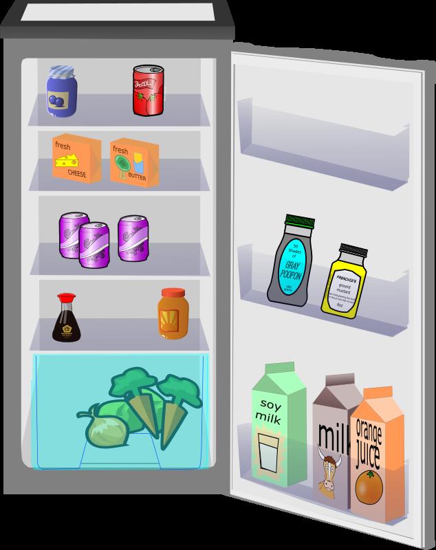 Dirty marymar info. Fridge clipart refigerator