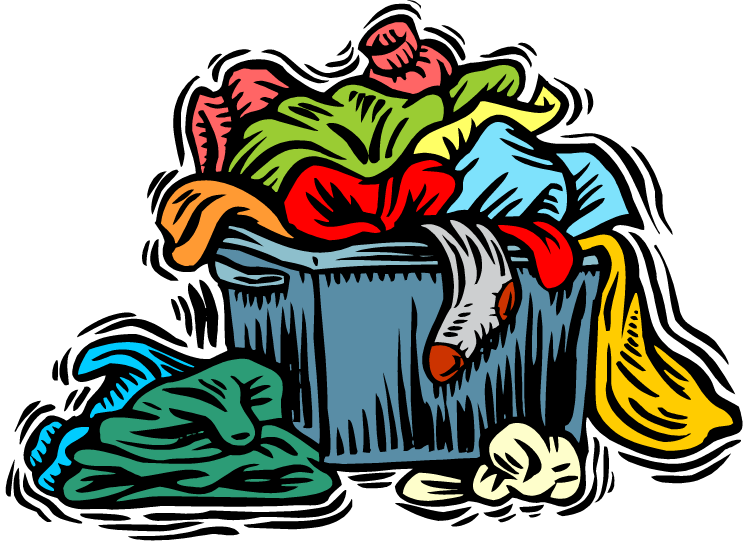 donation clipart old clothes