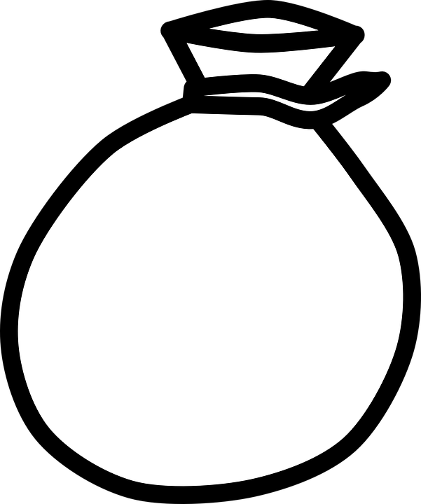 Coin clipart black and white. Collection of present outline