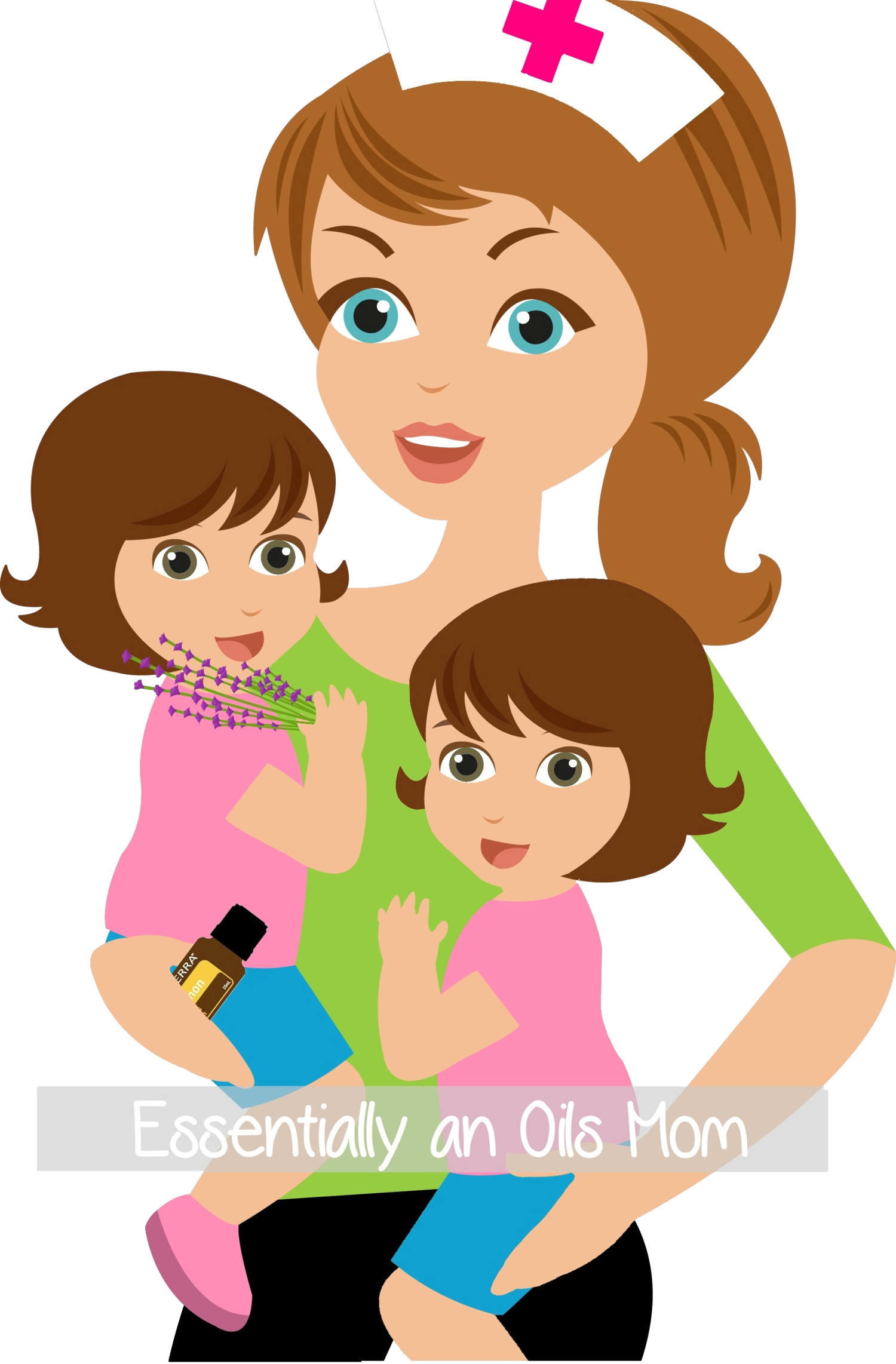 Essential oils for potty. Clipart mom momma