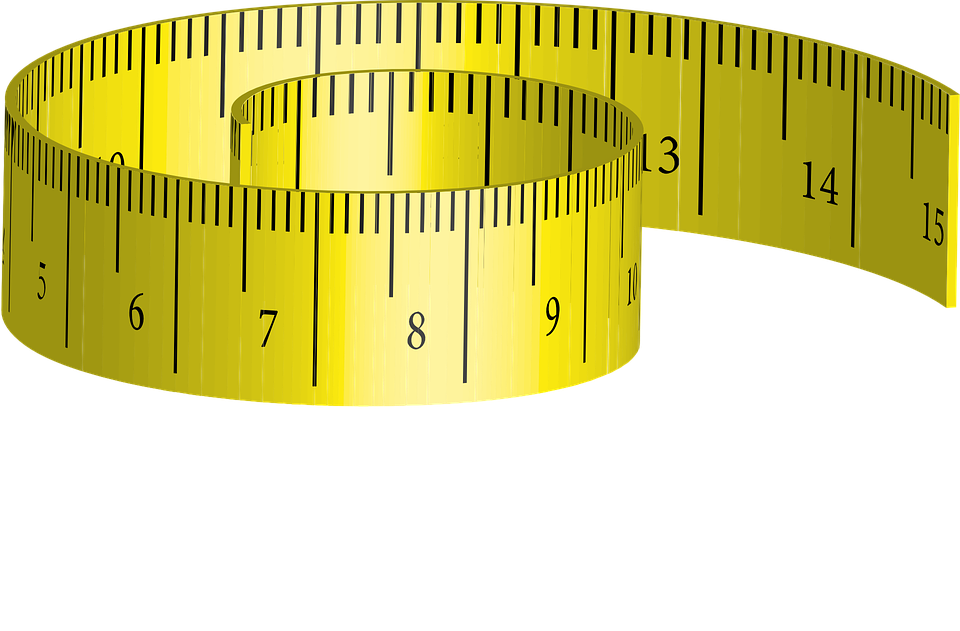 Scale measuring tape pencil. Clipart ruler phone