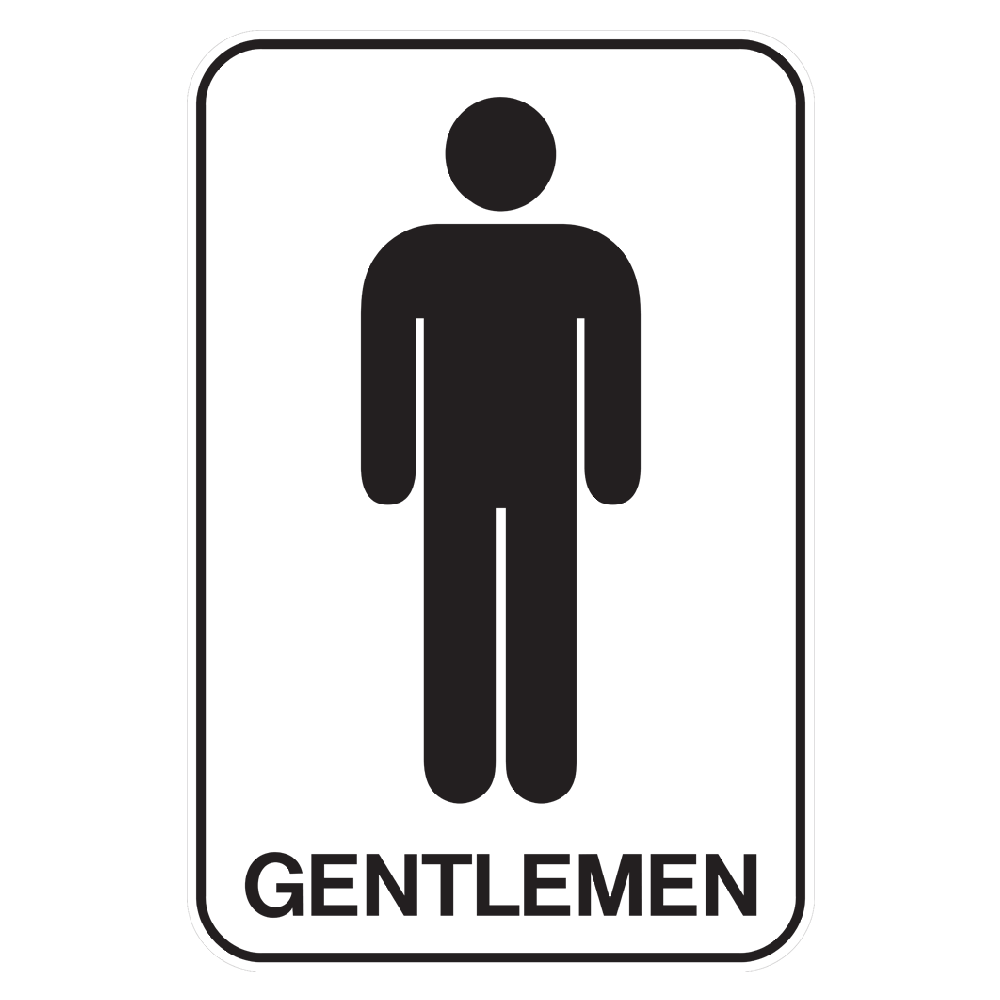 Clipart bathroom signage. General safety signs stickers