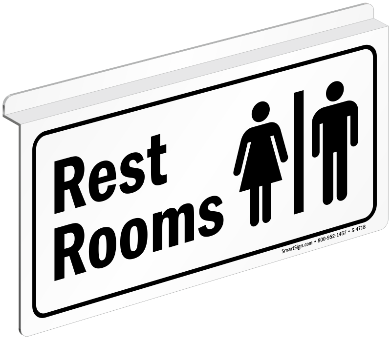 Clipart bathroom signage. Projecting signs zoom price