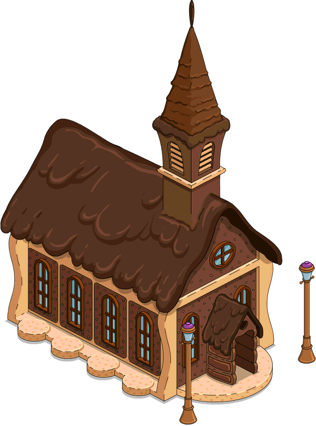 Land clipart country land. Of chocolate chapel the