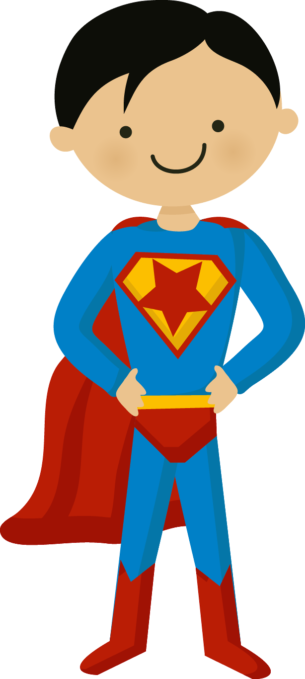 Doll clipart superhero. Super homem minus superman