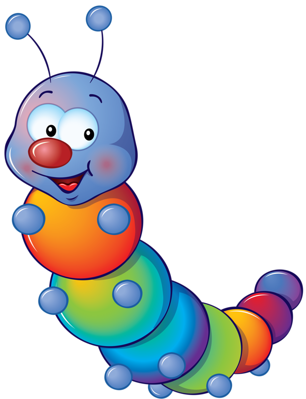 Raupe colo regenbogen png. Cricket clipart mania